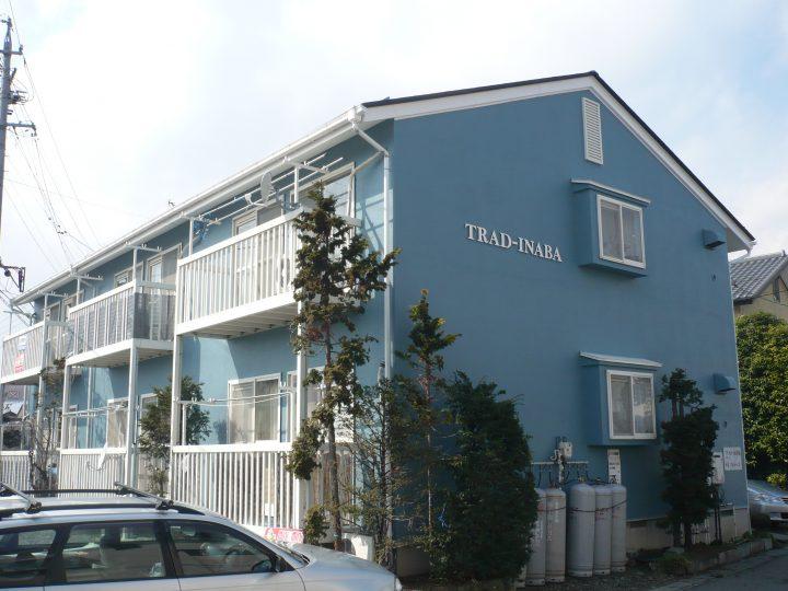 長野市アパート外壁塗り替え工事