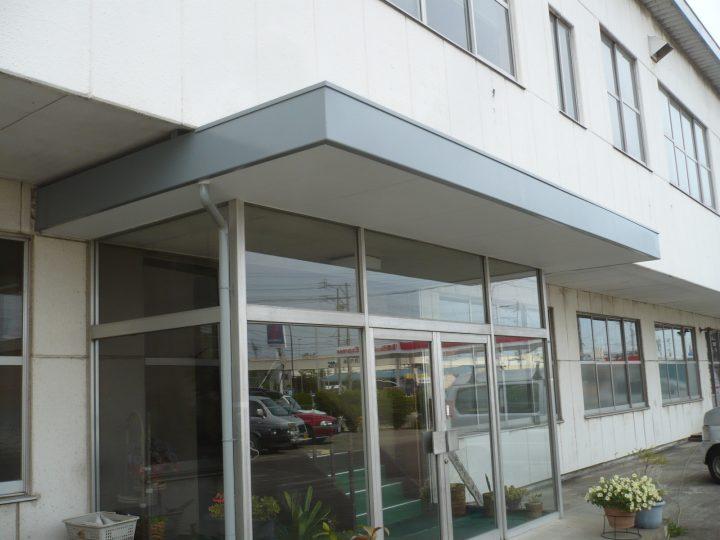 長野市 法人様 玄関天井補修工事
