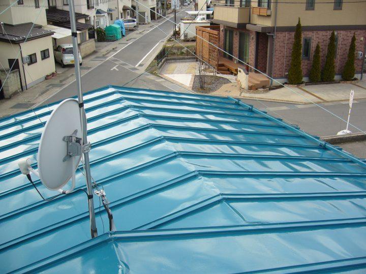 長野市トタン屋根塗り替え工事