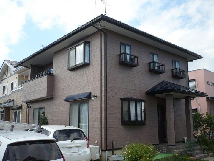 長野市稲葉外壁塗装工事