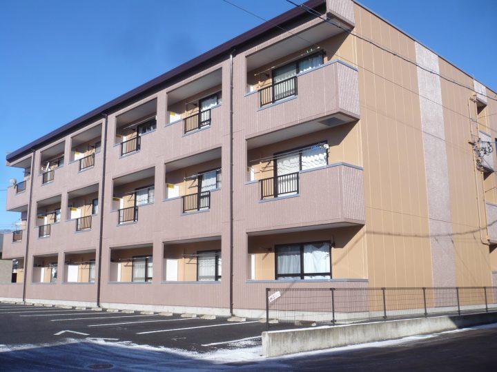 長野市アパート塗り替えリフォーム