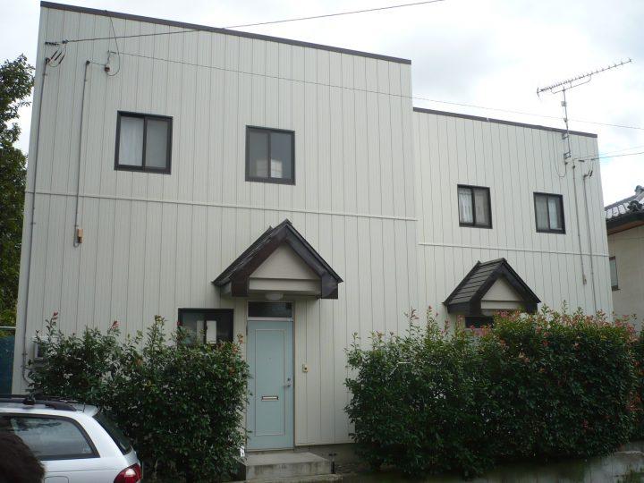 長野市アパート外装改修工事