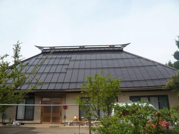 飯綱町くず屋根塗り替え工事