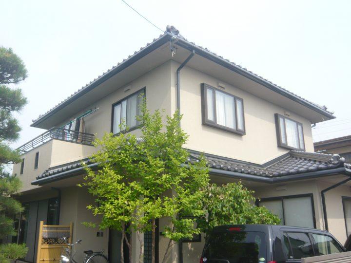 長野市パナホーム塗り替え工事