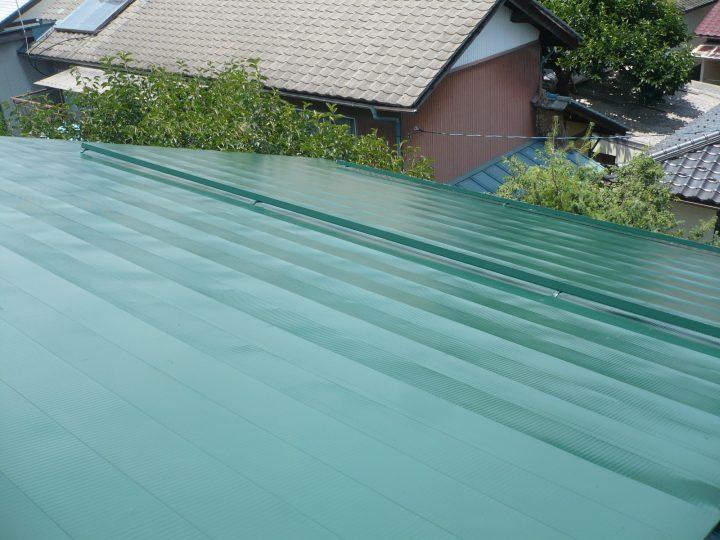 長野市屋根塗装工事