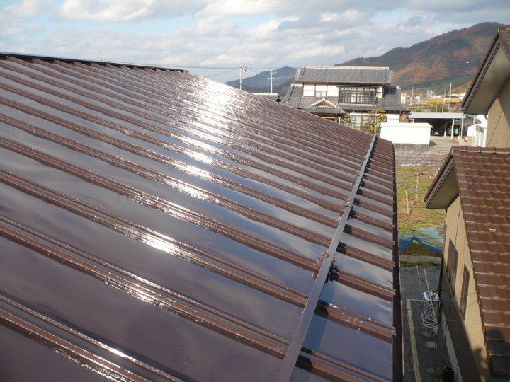 須坂市屋根塗り替え工事
