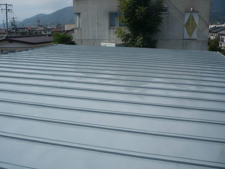 長野市トタン屋根塗装工事