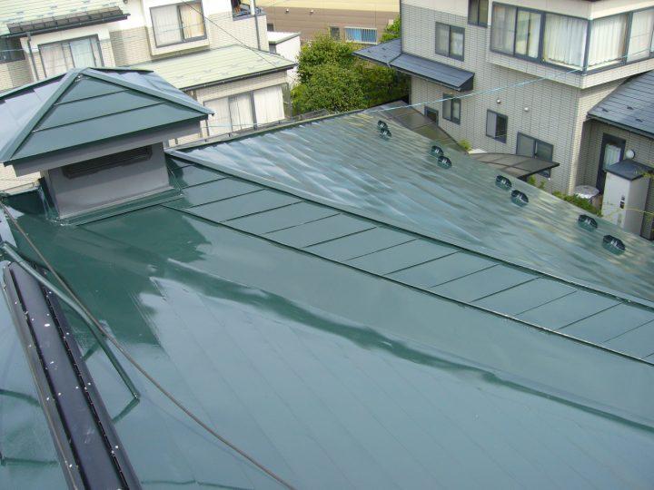 長野市屋根塗り替え工事