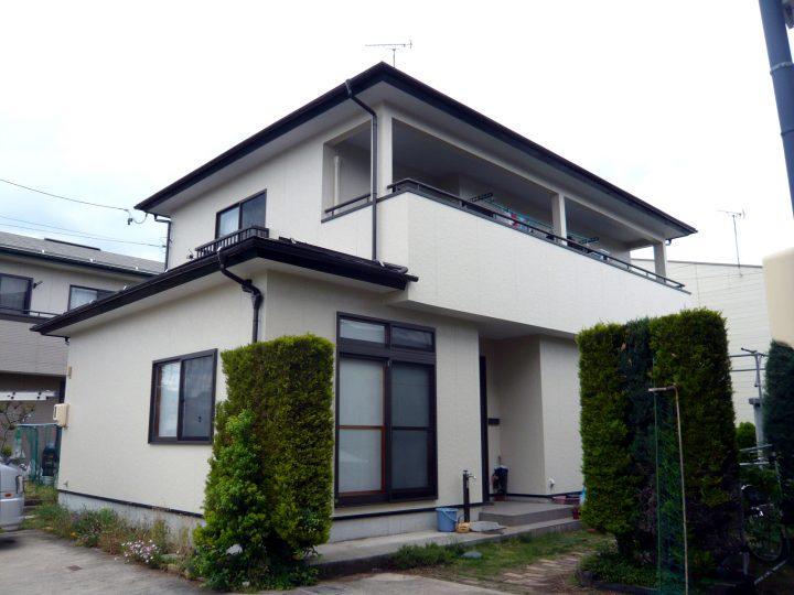 長野市外装塗り替えリフォーム工事