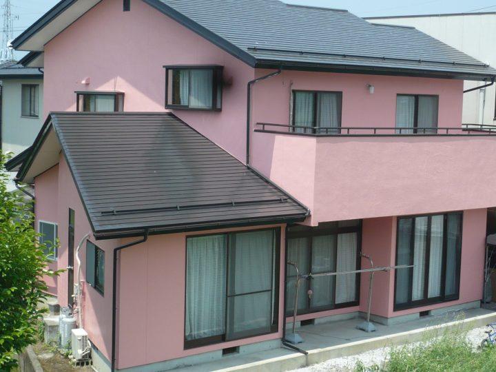 長野市外壁塗装工事