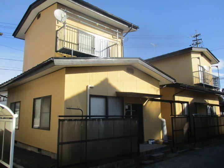 長野市W様 貸家外壁・屋根塗装工事