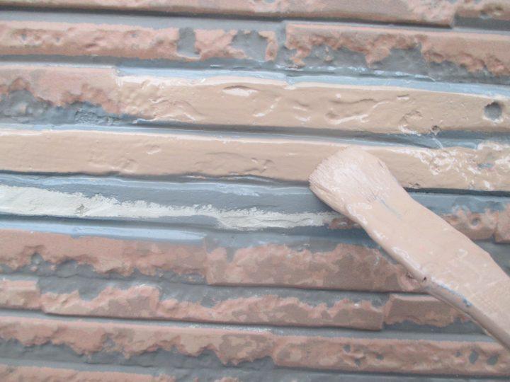 風呂場外壁(施工中)