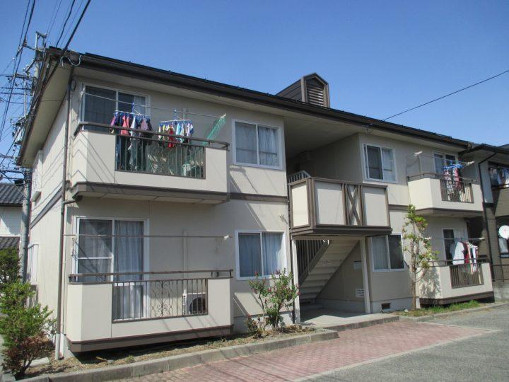 長野市K様 【セキスイ】アパート外壁・屋根塗装工事