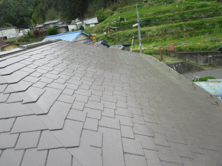 千曲市S様 屋根塗装工事
