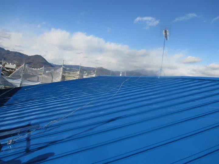 長野市テナント 屋根塗装工事