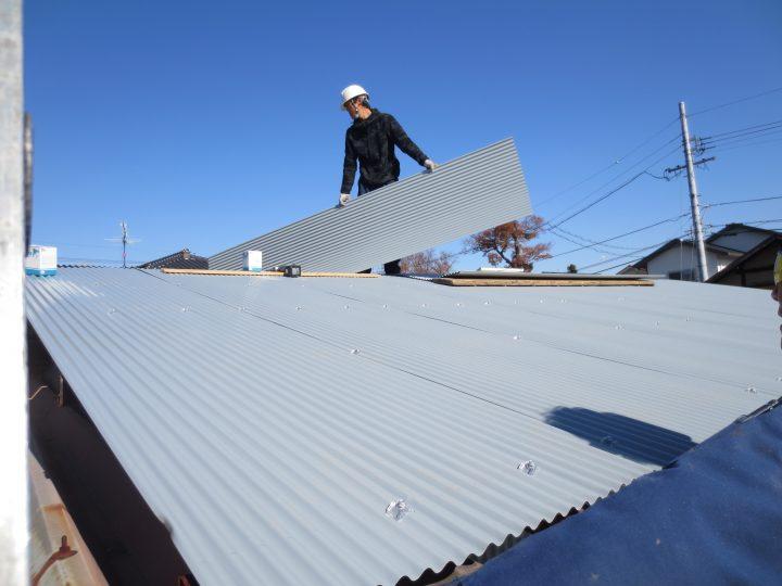 屋根張替え