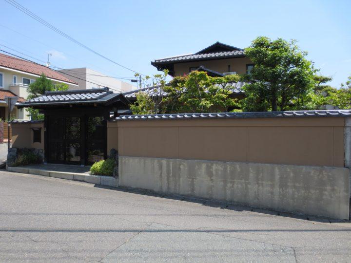 長野市S様 塀塗装工事