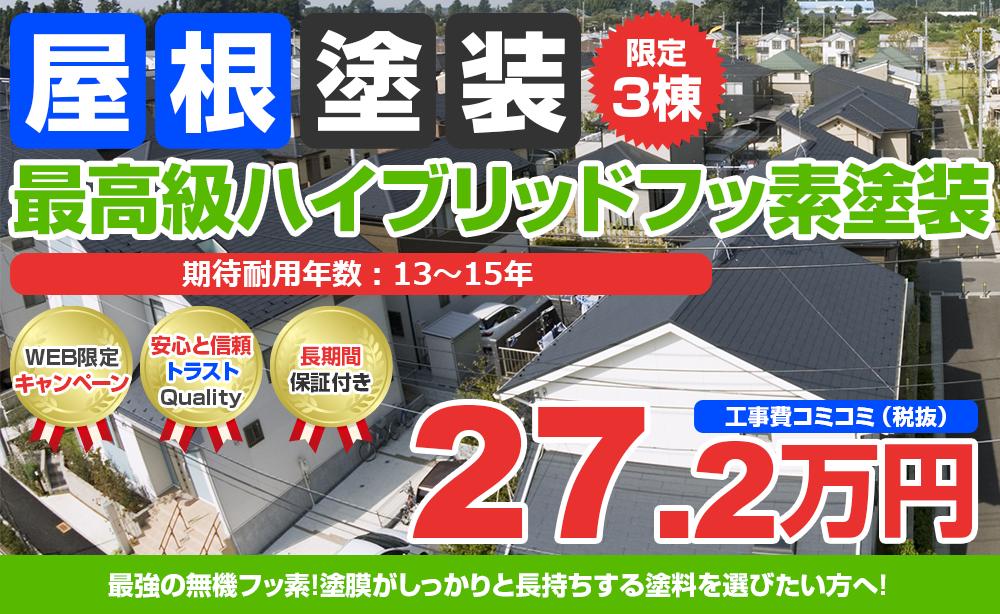 最高級ハイブリッドフッ素塗装 27.2万円