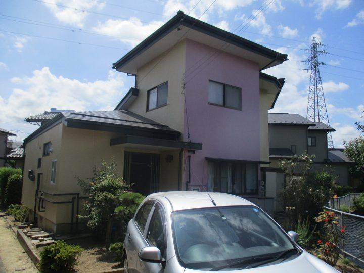 長野市F様 外壁塗装工事