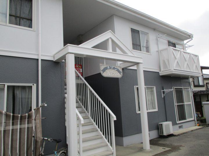 長野市I様 アパート外壁・屋根塗装工事