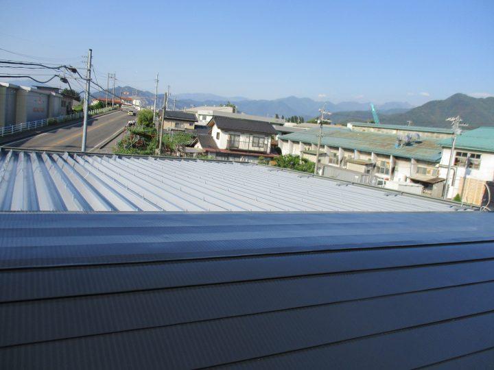 須坂市K様 屋根塗装工事