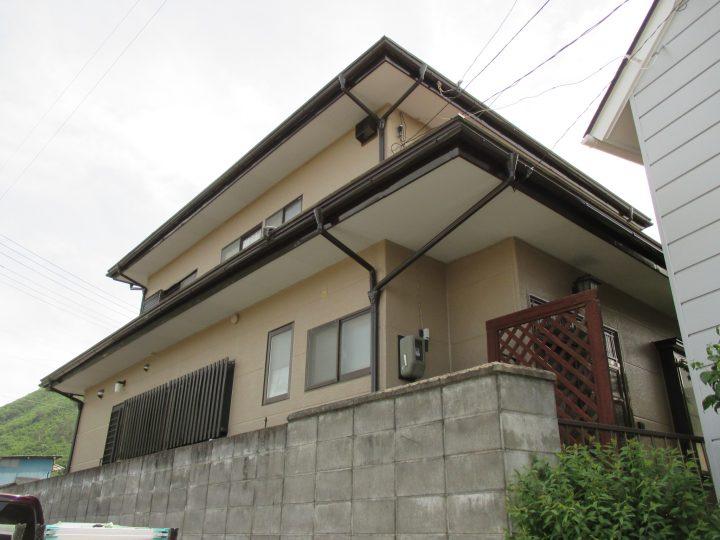 小布施町Y様 屋根・外壁塗装工事