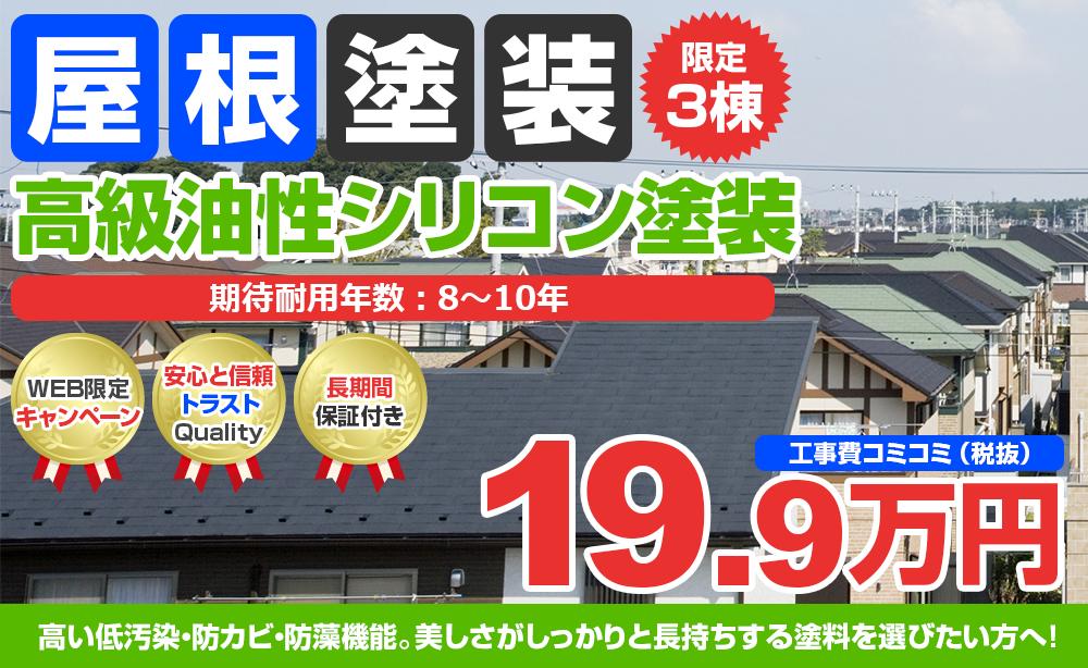 高級油性シリコン塗装 19.9万円