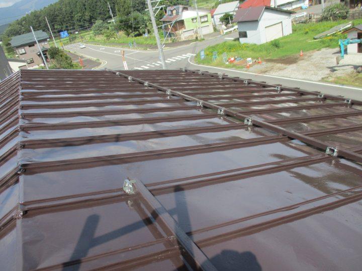信濃町T様 屋根塗装工事