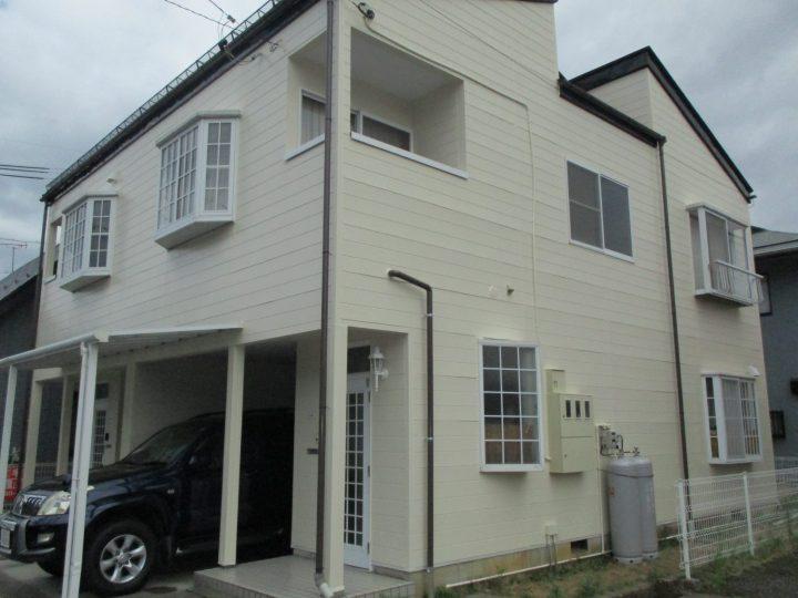 長野市O様 アパート外壁塗装工事