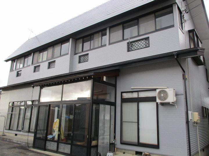 飯山市M様 外壁・屋根塗装工事