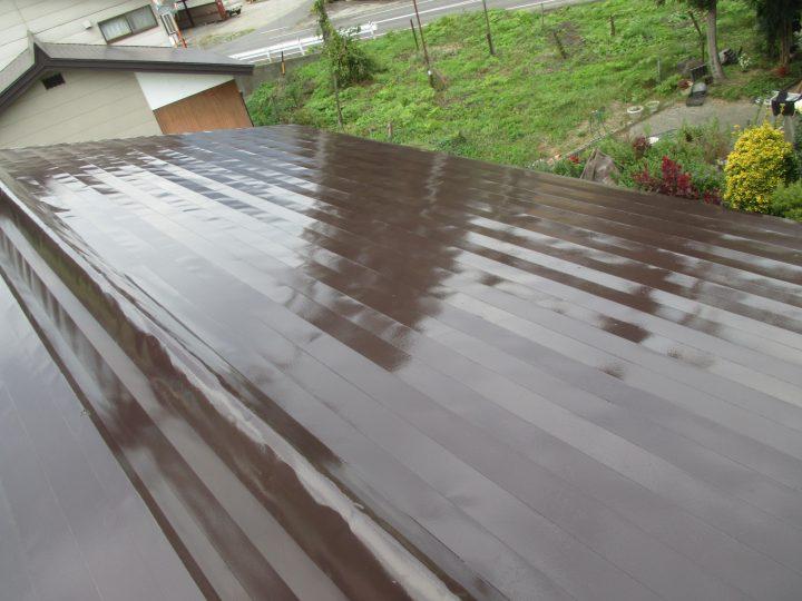 飯山市M様 屋根塗装工事