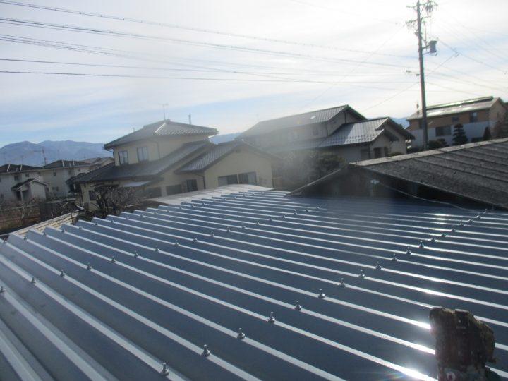 長野市N様 屋根塗装工事