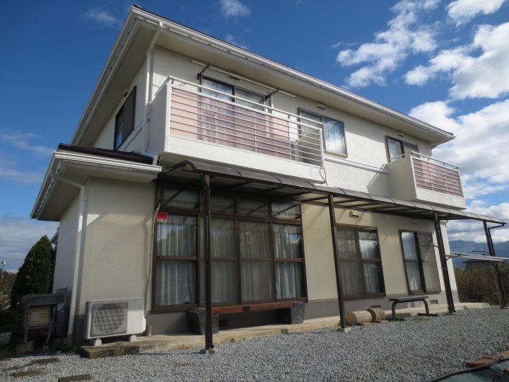 須坂市N様 【パナホーム】外壁・屋根塗装工事