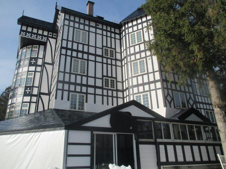白馬村T様 ホテル外壁・屋根塗装工事