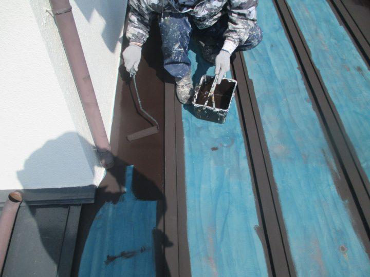 屋根塗装(下塗り1回)