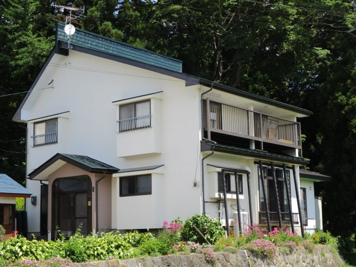 信濃町T様 外壁・屋根塗装 板金工事