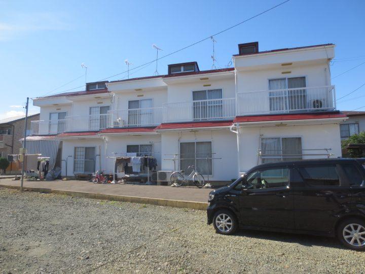 長野市K様 アパート屋根・外壁塗装工事