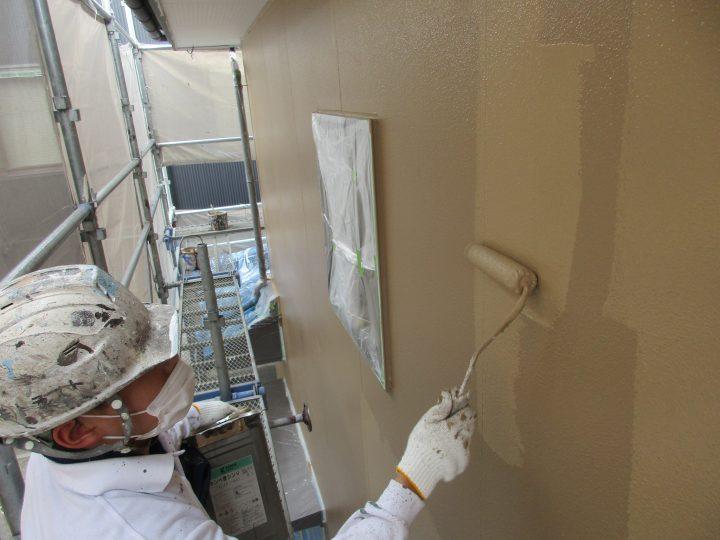 外壁上塗り(2回塗り)