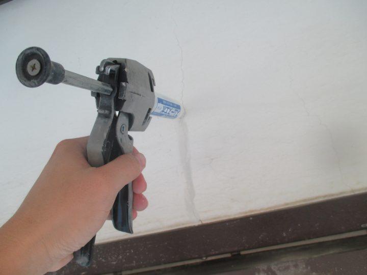 外壁漆喰補修