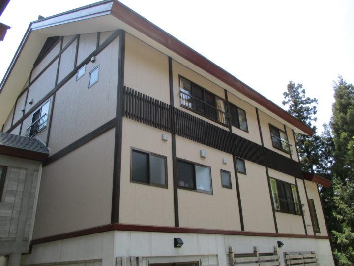 信濃町I様 外壁塗装工事