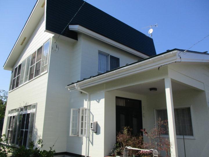 信濃町F様 外壁・屋根塗装工事