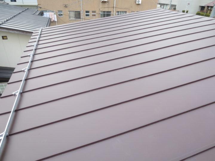 長野市U様 屋根塗装・葺き替え工事