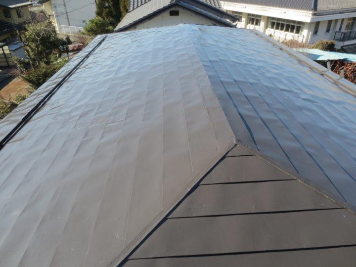 須坂市A様 屋根塗装工事