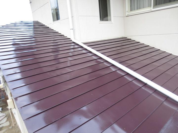安曇野市M様 屋根塗装工事