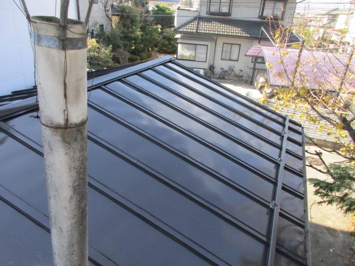 千曲市K様 屋根塗装工事