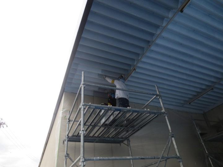 屋根裏面結露防止塗装