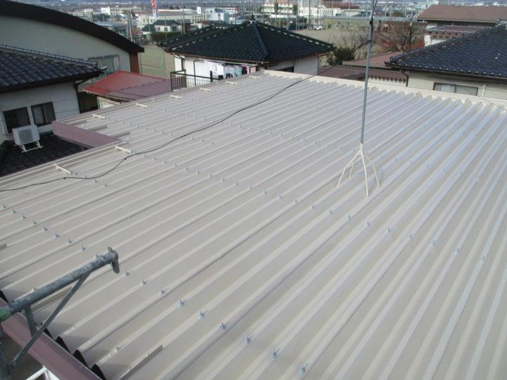 須坂市N様 屋根塗装工事