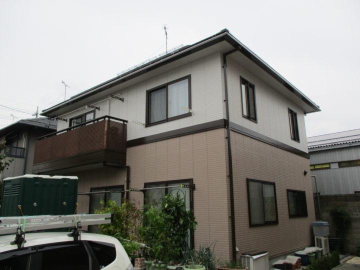 長野市Y様アイフルホーム外壁塗装工事