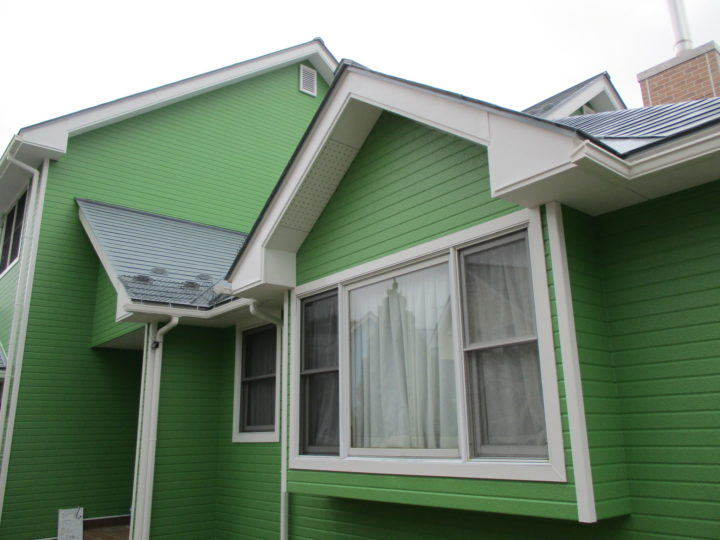 飯綱町S様 外壁、屋根塗装工事