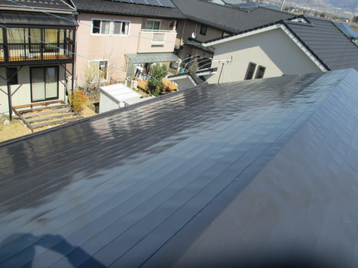 長野市K様 屋根塗装工事